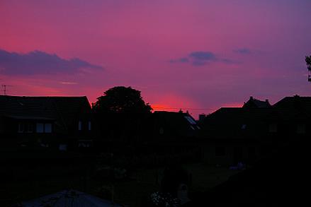 Sonnenuntergang in Xanten