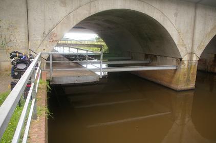etwas eingenwillige Brückenkonstruktion