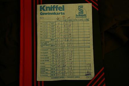 Kniffel Rekord