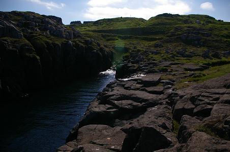 Bachlauf bei Torshavn
