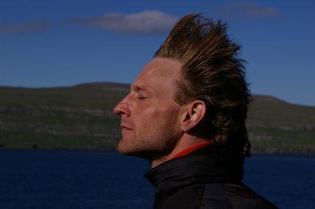 auf der Norröna beim verlassen der Färöer