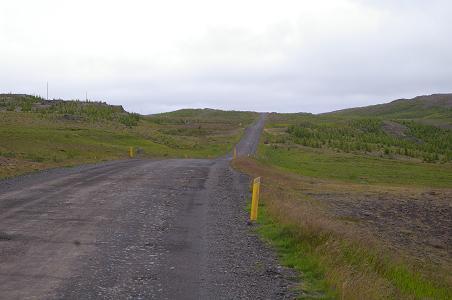 Straße neben dem Lagarfjólt