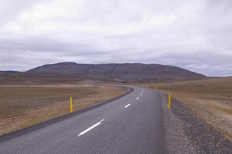 Die Ringstraße Richtung Mývatn