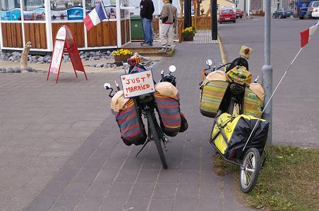 Liegefahrräder von Amanda und Olivier