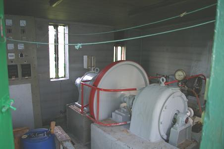 Wasserkraftgenerator in Látravík