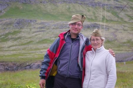 Abschied von den freundlichen Menschen in Látravík
