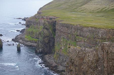 cliffs near Hornbjarg