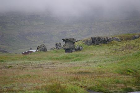 Rocks in Reykjarfjörður