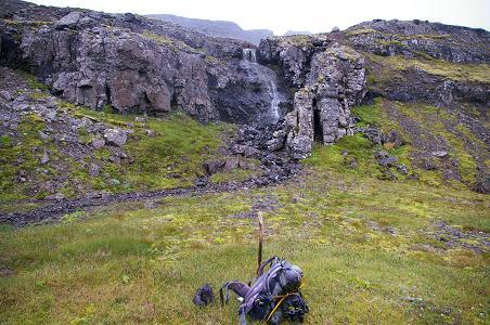 Pause nach der Durchquerung des Bjarnafjörður