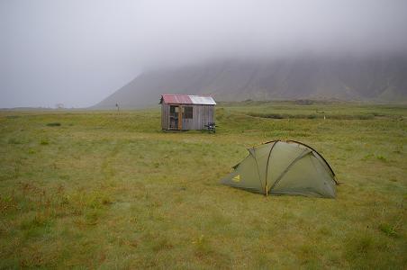 Hütte bei Drangar