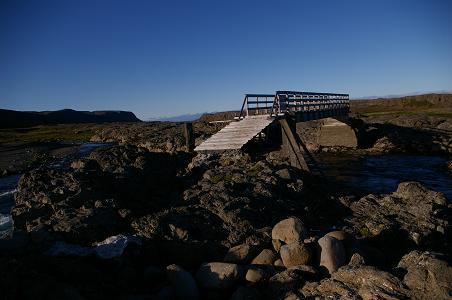 Brücke über den Hvalá