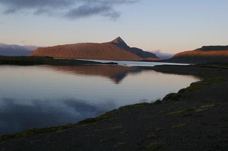 Blick über den Ófeigsfjörður