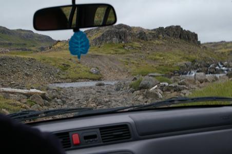 Jeep Track nach Ófeigsfjörður