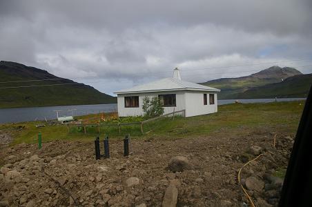 Haus in Ófeigsfjörður