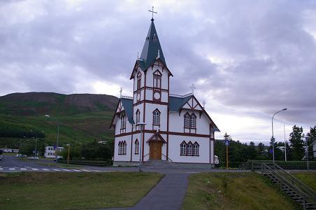 Kirche in Húsavík