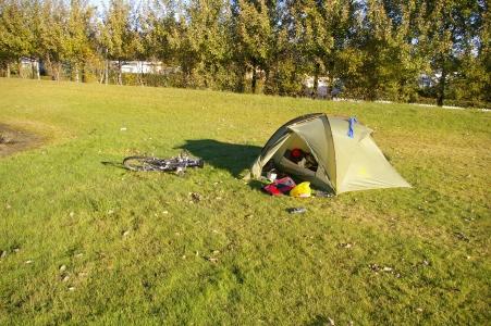 Camping in Selfoss