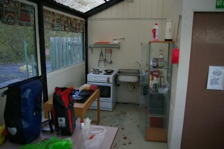 Campingküche in Selfoss