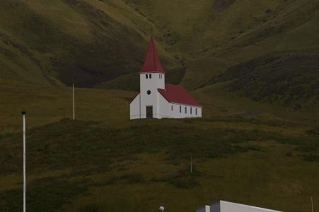 Kirche bei Vík