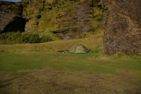 Camping in Vík