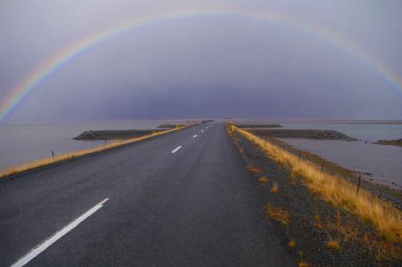 Der Weg nach Breidalsvík