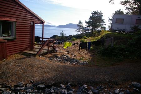 Camping bei Leirvik