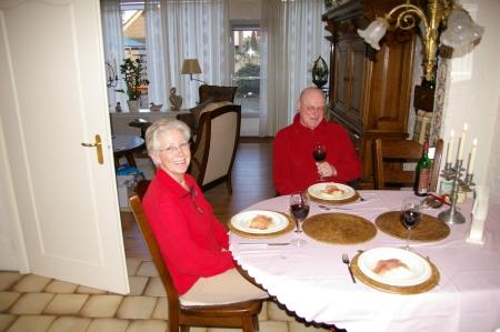 Meine Gastgeber Frits und Martha