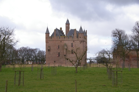 Kastell Doornenburg in Gelderland