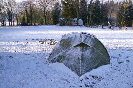 aufwachen im Schnee