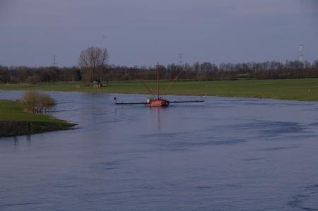 Die Weser bei Petershagen