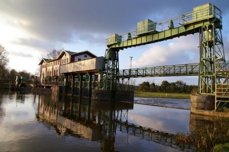Wasserkraftwerk und Allerschleuse Oldau