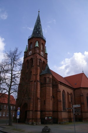 Kirche in Dömitz