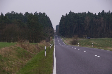 Straße nach Krakow