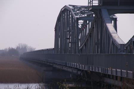 Brücke von Zingst Richtung Barth