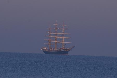schöne Aussicht aufs Meer