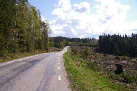 kurz hinter Borås