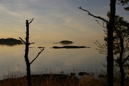Der Vännern See am Abend