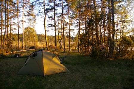 Nachtlager auf der Halbinsel
