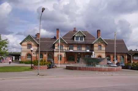 Fagersta Bahnhof