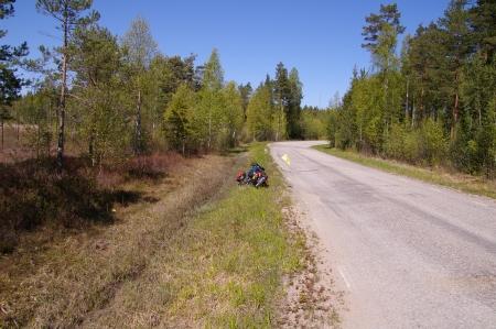 Weg mit Jörgs Rad