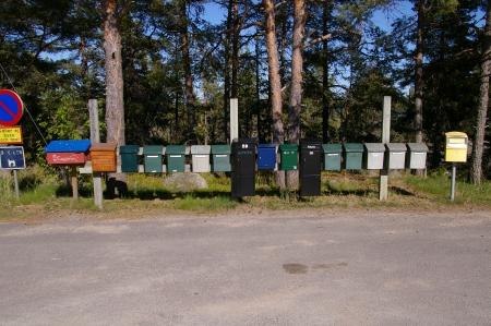 Die Briefkästen von Kuggörarna