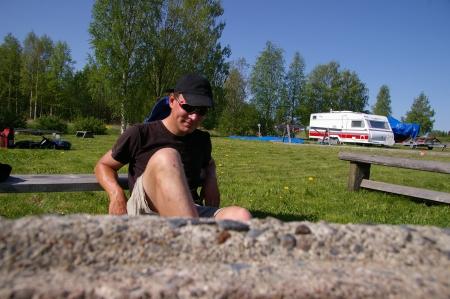 Jörg bei 32°C