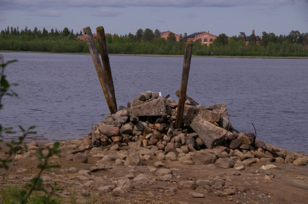 Alte Brückenpfeiler