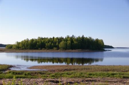 Blick von Töre Camping