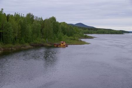 Kalixälven bei Talvik