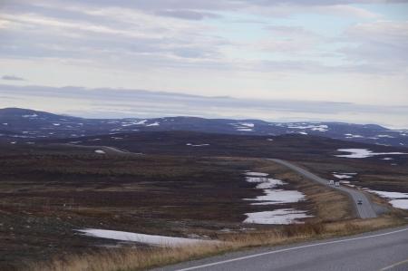 Straße zwischen Alta und Skaidi
