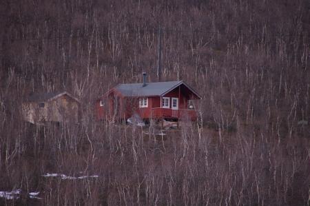 Hütte zwischen Alta und Skaidi