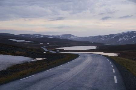 E69 zwischen Russenes und Magerøya