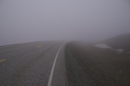 Straße zum Nordkap