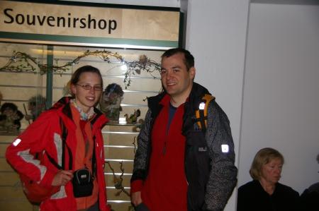 Jens und Karola auf Hochzeitsreise