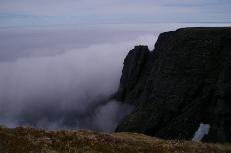 Klippen am Nordkap